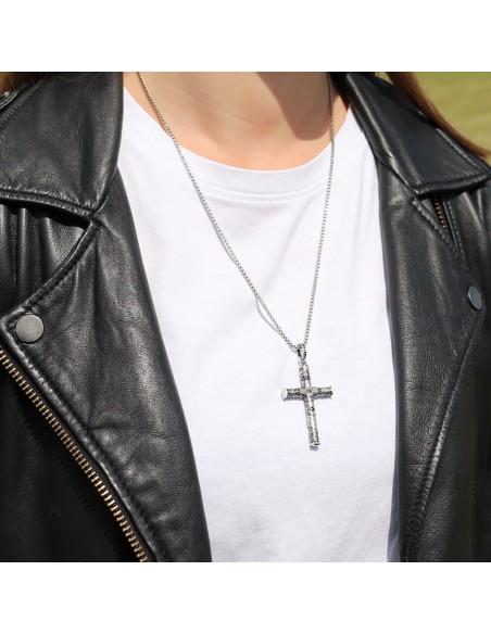 pendentif croix argent 925